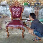 Meja Makan Jati Salina 10 Kursi Ganesha
