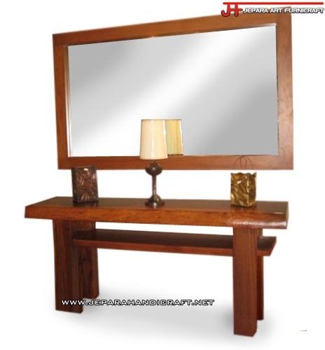 Gambar Meja Rias Minimalis Solid Wood