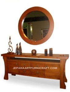 Gambar Meja Minimalis Drawer Cermin Solid 228x300