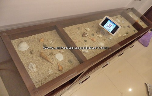 Harga Meja TV Minimalis Modern Exotic Lagoon Murah