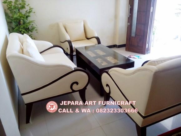 Gambar Sofa Tamu Minimalis Jati Puspa