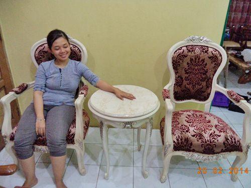 Gambar Kursi Sofa Teras WS Flower Floren 1