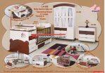 Set Tempat Tidur Anak Multifungsi