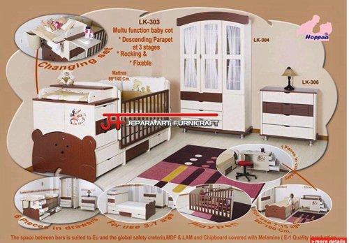 Model Set Tempat Tidur Anak Multifungsi Modern Terbaru
