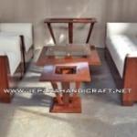 Gambar Sofa Minimalis Modern Kayu Jati 300x156 150x150 c