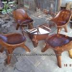 Jua Set Kursi Tamu Malas Solid Wood Harga Murah