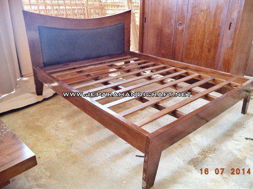 Gambar Tempat Tidur Minimalis Jati Tanduk 1 1
