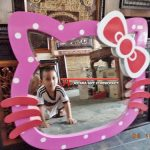 Cermin Aksesoris Hello Kitty Cantik
