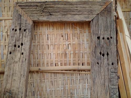 Gambar JAF CM 036 CERMIN ANTIK KAYU REL KERETA 9