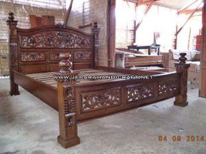 Gambar Tempat Tidur Jati Rahwana Krawang 2 300x224