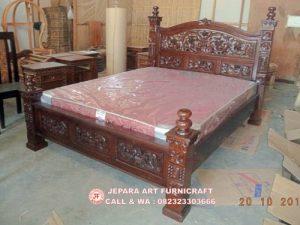 Gambar Tempat Tidur Jati Rahwana Krawang Murah Berkualitas 300x225