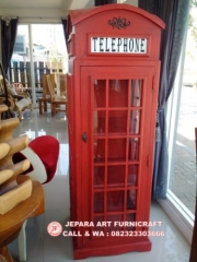 Termurah Lemari Hias Minimalis Telepon Inggris Berkualitas