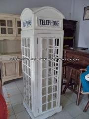 Jual Lemari Hias Minimalis Telepon Inggris Harga Murah