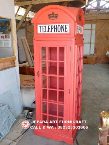 Gambar Lemari Hias Minimalis Telepon Inggris 2
