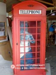 Furniture Terbaru Lemari Hias Minimalis Telepon Inggris Murah