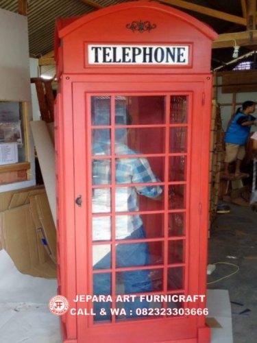 Gambar Lemari Hias Minimalis Telepon Inggris 4