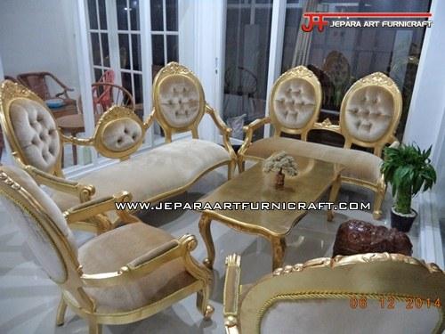 Kami Menjual Sofa Mewah Classic Cameo Gold Concerto Harga Murah