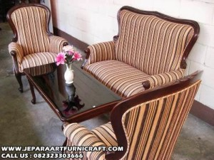 Sofa Ruang Tamu Jati Grandfather