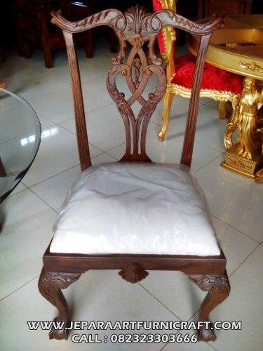 Gambar JAF SKMU 017 SET KURSI MAKAN CHIPPENDALE 4 SEAT 3