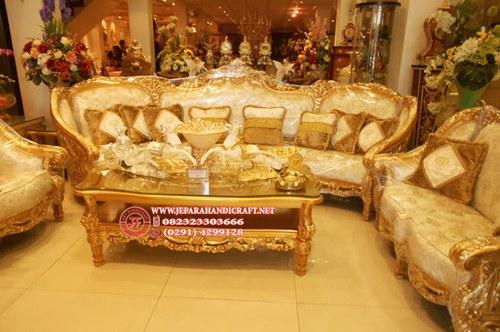 Gambar Sofa Tamu Mewah Classic Clermont