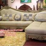 Sofa Tamu Sudut Classic Cleopatra