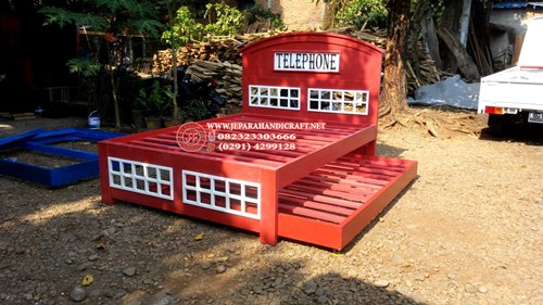 Gambar Tempat Tidur Telephone Western