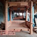 Gambar Gazebo Minimalis Kayu Kelapa Alfa 14 300x225 150x150 c
