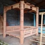 Gambar Gazebo Minimalis Kayu Kelapa New Alfa 2 300x225 150x150 c