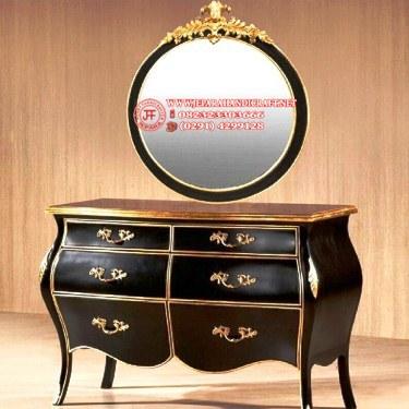 Gambar Meja Drawer Classic Specchio Bulat