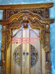 Gambar Pintu Gebyok Ukir Jati 225x300