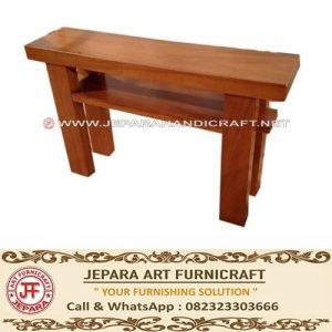 Meja Konsul Minimalis Solid Wood