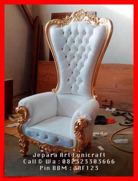 Gambar Sofa Ruang Tamu Cantik Princess White 2