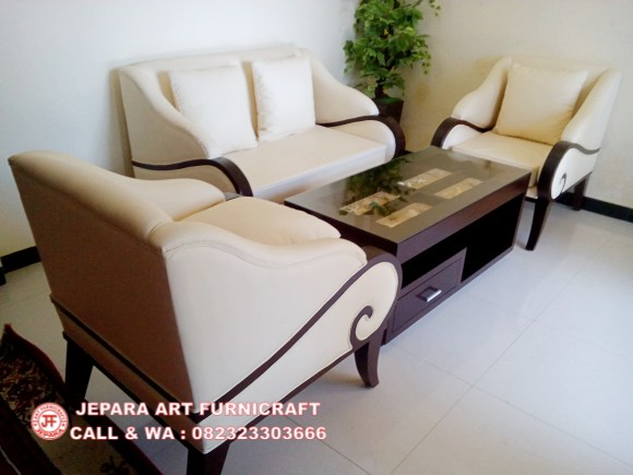 Dijual Sofa Terbaru Sofa Tamu Minimalis Jati Puspa Harga Murah
