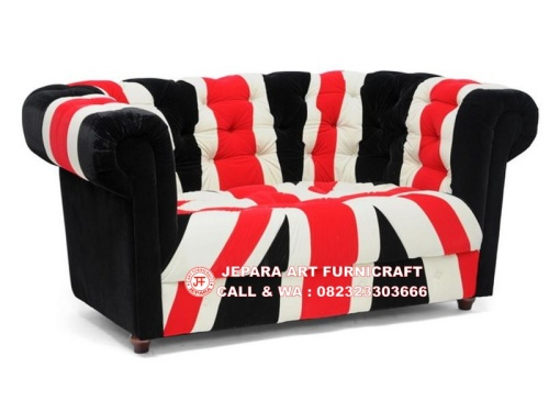 Gambar Sofa Minimalis Chesterfield Union Jack 5