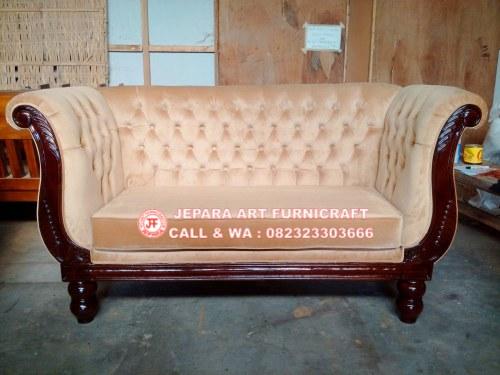 Gambar Sofa Tamu Jati Swan 1