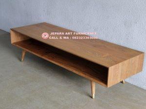 Bufet Minimalis Jati Vintage Mid 009