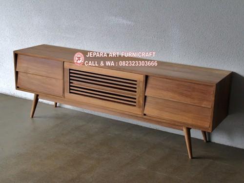 Terbaru Jual Bufet Minimalis Jati Vintage Mid 014