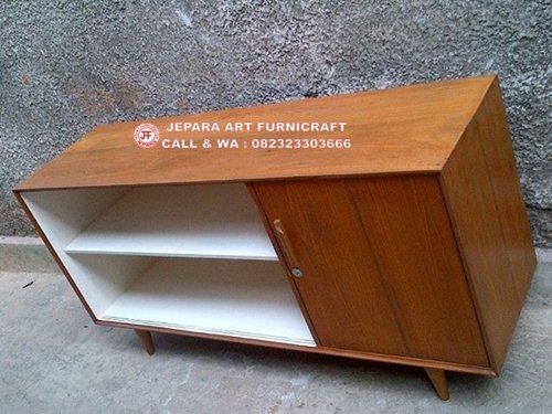 Simple Dan Elegan Bufet Minimalis Jati Vintage Mid 019