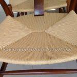 Kursi Makan Wishbone Hans Wegner Paper Cord