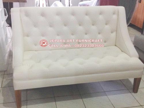 Gambar Sofa MInimalis Modern Britney White