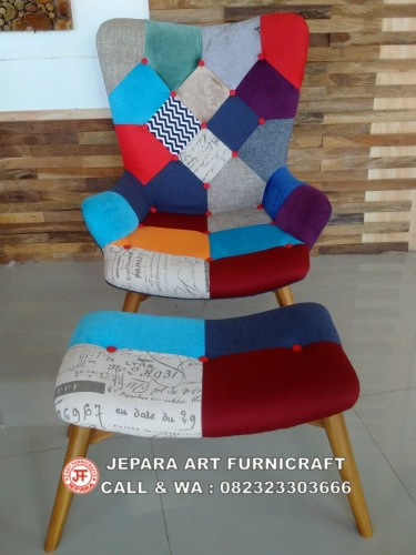Gambar Sofa Minimalis Modern Vintage Mixed Match