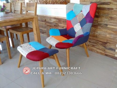 Gambar Sofa Minimalis Modern Vintage Mixed Match1