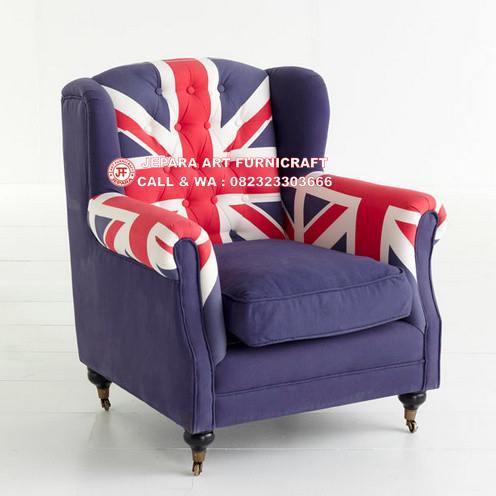 Gambar Sofa Modern Britisth Eclectic
