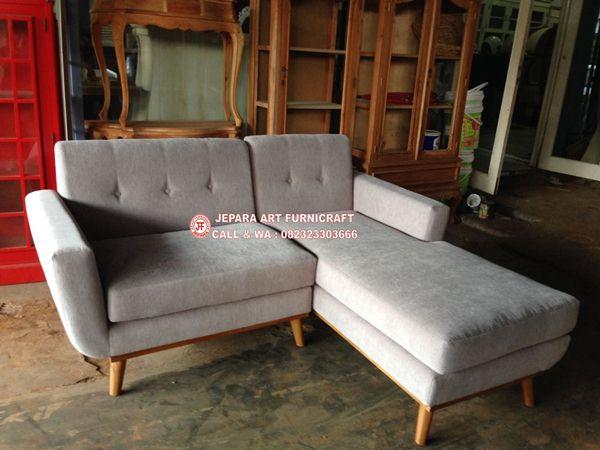 Gambar Sofa Tamu Minimalis Modern Sudut