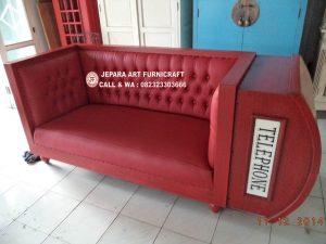 Sofa Tamu Telephone Inggris