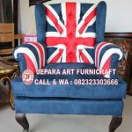 Sofa Tamu Union Jack