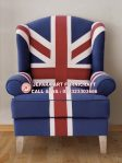 Sofa Tamu Union Jack Wallace