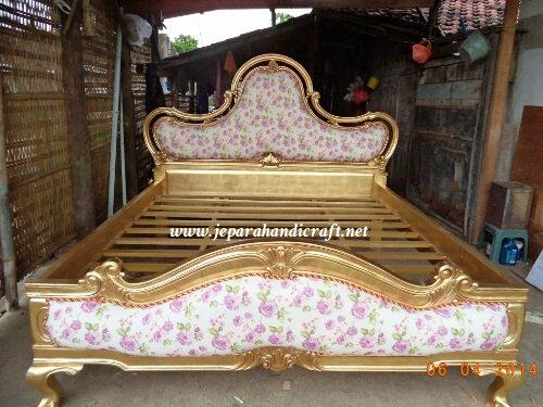 Sangat Cantik Tempat Tidur Classic Sephia Mewah Dijual Murah