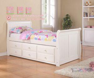 Tempat Tidur Minimalis Anak Laci