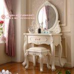 Meja Rias Classic Duco Ivory Swan